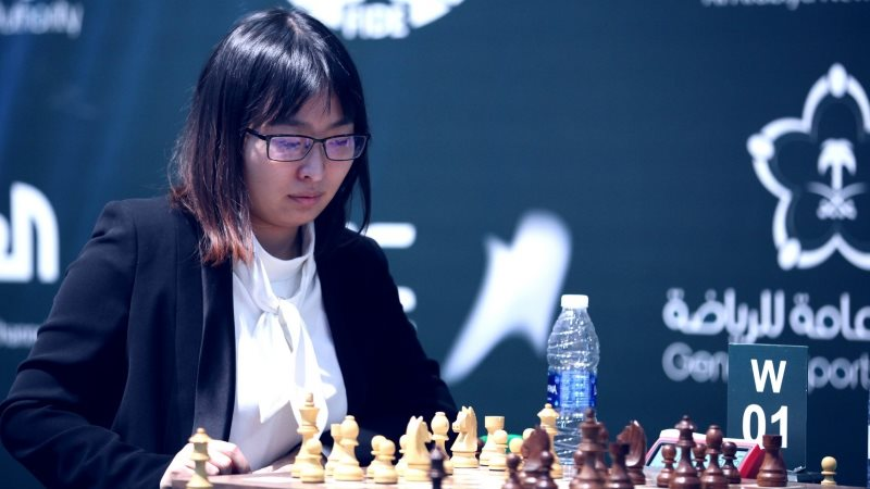 Wenjun Ju Championne du Monde Rapide 2017