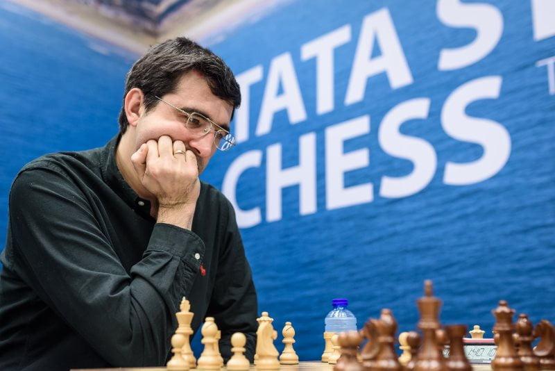 Tata Steel Chess Masters 2018 ronde 1 Vladimir Kramnik