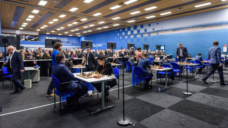 Tata Steel Chess Masters 2018 ronde 1
