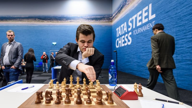 Tata Steel Chess Masters 2018 ronde 12