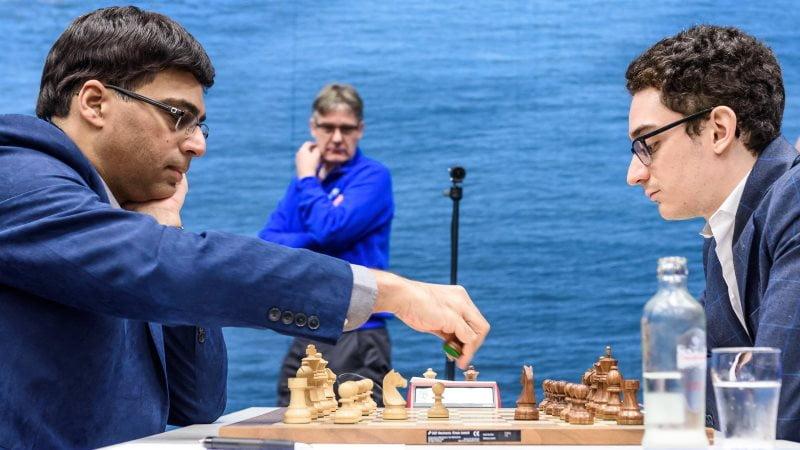 Tata Steel Chess Masters 2018 ronde 3 Anand-Caruana