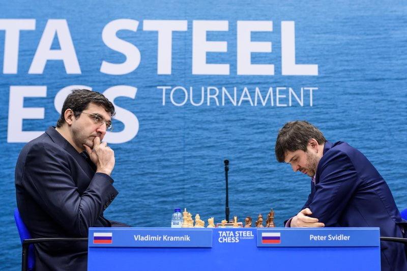 Tata Steel Chess Masters 2018 ronde 4 Kramnik-Svidler