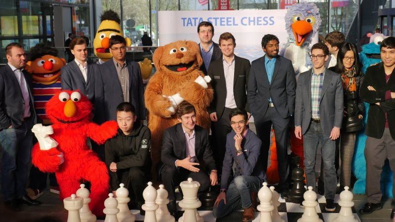 Tata Steel Chess Masters 2018 ronde 5 Hilversum