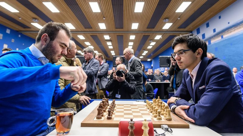 Tata Steel Chess Masters 2018 ronde 8
