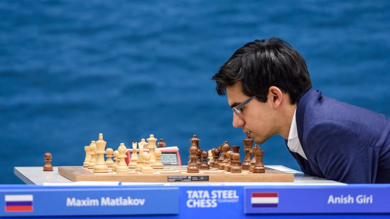 Tata Steel Chess Masters 2018 ronde 9 Anish Giri
