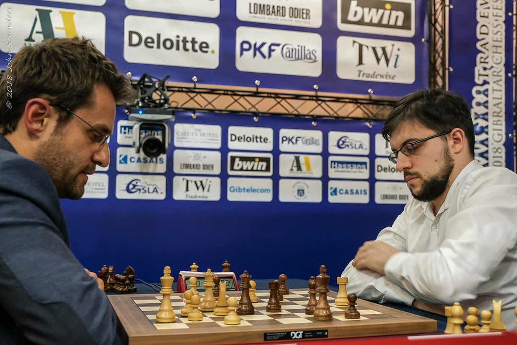 Tradewise Gibraltar Chess Masters 2018 Tie-break Aronian et Vachier-Lagrave