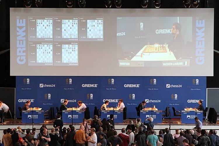 Grenke Chess Classic 2018 ronde 1