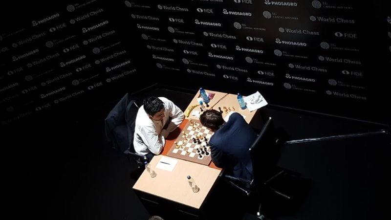 Tournoi Candidats 2018 ronde 1 Kramnik-Grischuk