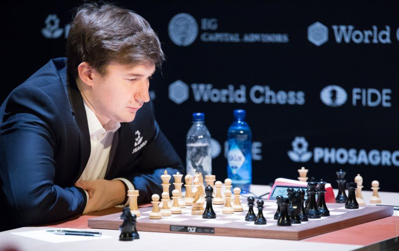 Tournoi des Candidats 2018 ronde 1 Sergey Karjakin