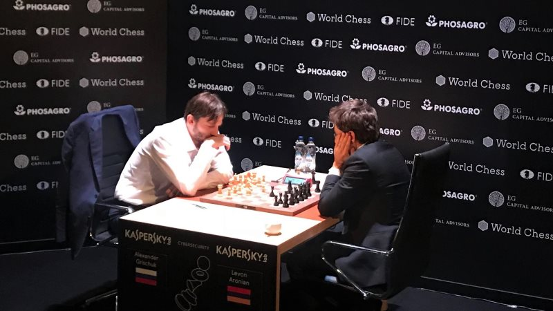 Tournoi Candidats 2018 ronde 12 Grischuk-Aronian