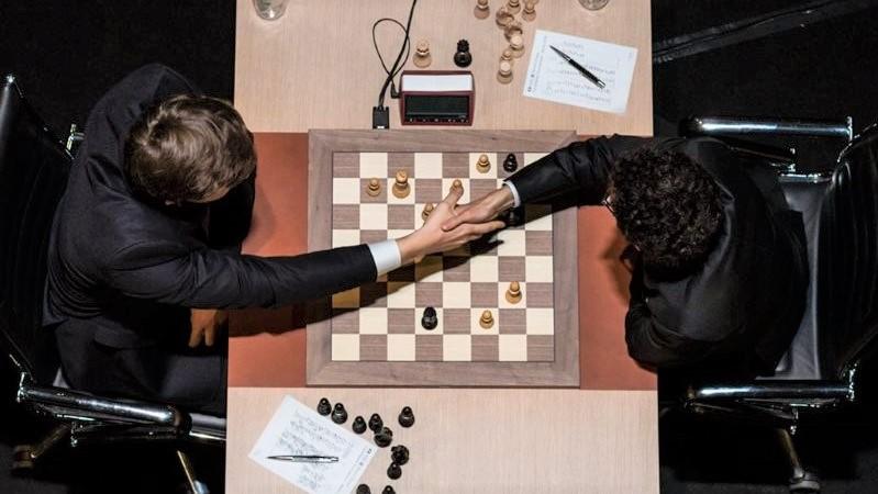 Tournoi Candidats 2018 ronde 12 Karjakin-Caruana