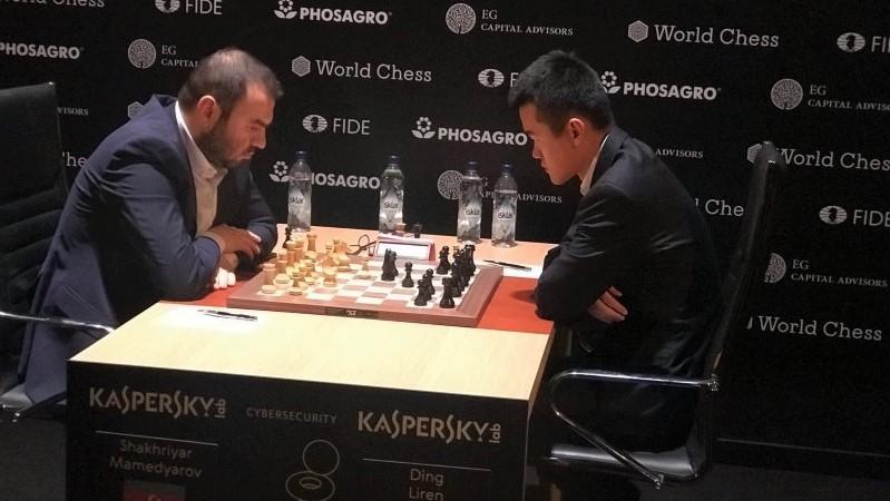 Tournoi Candidats 2018 ronde 12 Mamedyarov-Ding