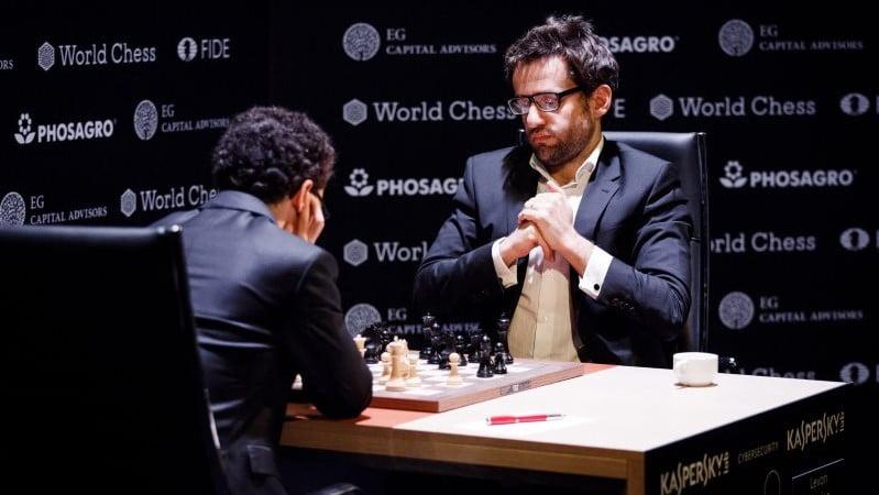 Tournoi Candidats 2018 ronde 13 Caruana-Aronian