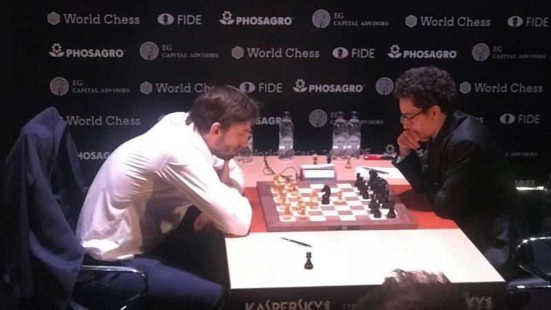 Tournoi Candidats 2018 ronde 14 Grischuk-Caruana