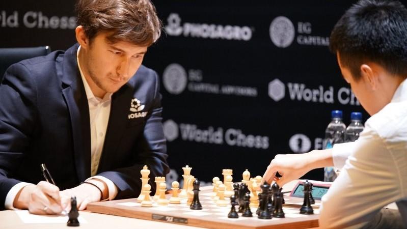 Tournoi Candidats 2018 ronde 14 Karjakin-Ding