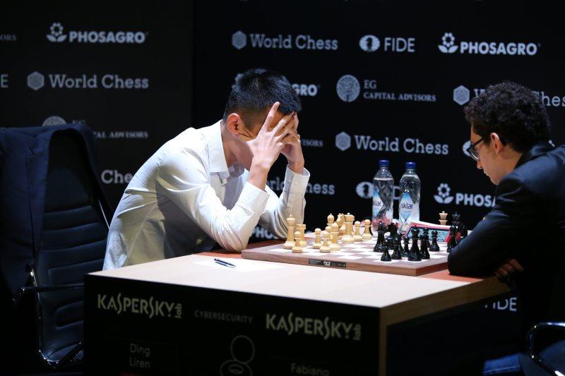Tournoi Candidats 2018 ronde 2 Caruana-Ding
