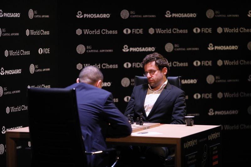 Tournoi Candidats 2018 ronde 2 Mamedyarov-Aronian