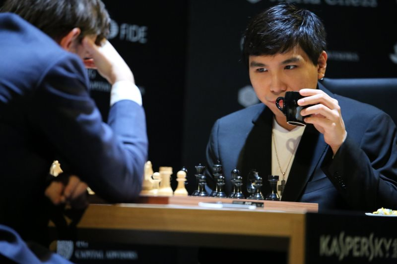 Tournoi Candidats 2018 ronde 2 Wesley So