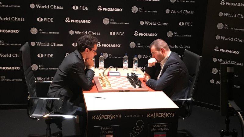 Tournoi Candidats 2018 ronde 3 Caruana-Mamedyarov
