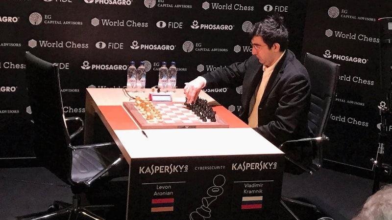 Tournoi Candidats 2018 ronde 3 Vladimir Kramink