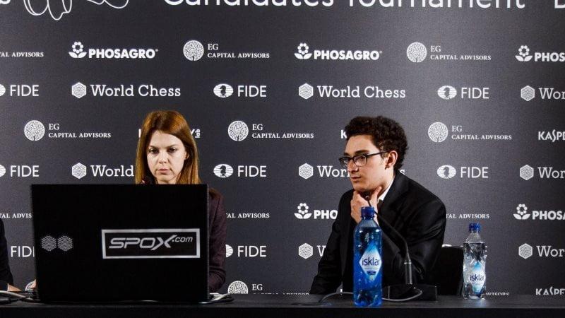 Tournoi Candidats 2018 ronde 7 Caruana