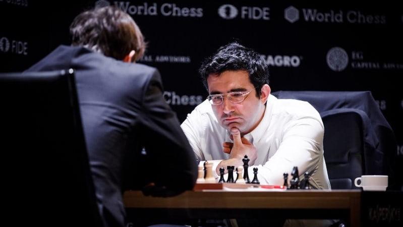 Tournoi Candidats 2018 ronde 9 Karjakin-Kramnik