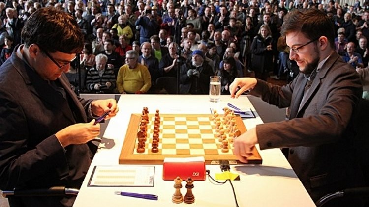 Grenke Chess Classic 2018 ronde 2 Anand-Vachier-Lagrave