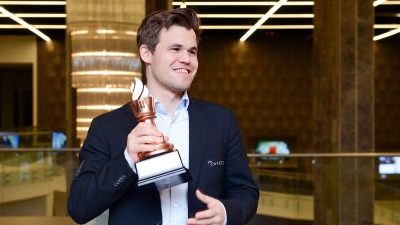 Magnus Carlsen remporte Shamkir Chess 2018 Cérémonie de clôture