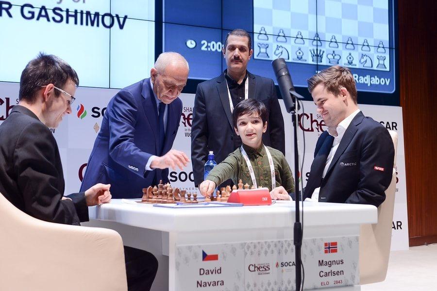 Shamkir Chess 2018 ronde 2 Carlsen-Navarra