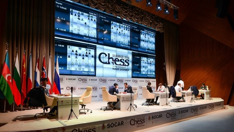 Shamkir Chess 2018 ronde 2