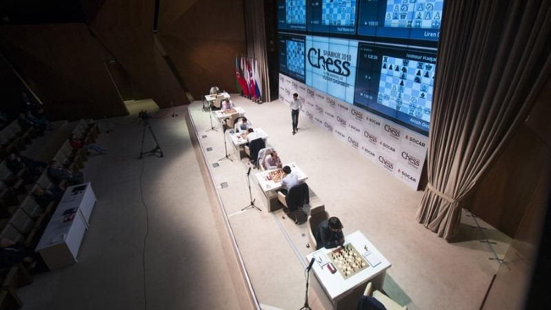Shamkir Chess 2018 ronde 3