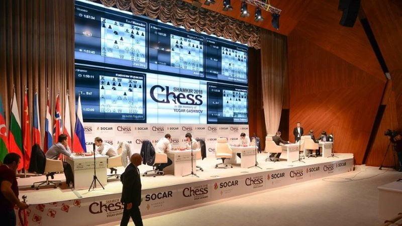 Shamkir Chess 2018 ronde 8