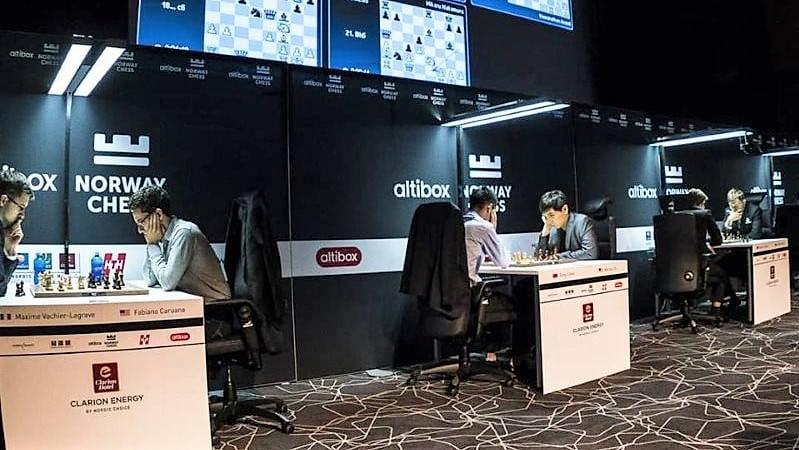 Norway Chess 2018 Blitz appariements