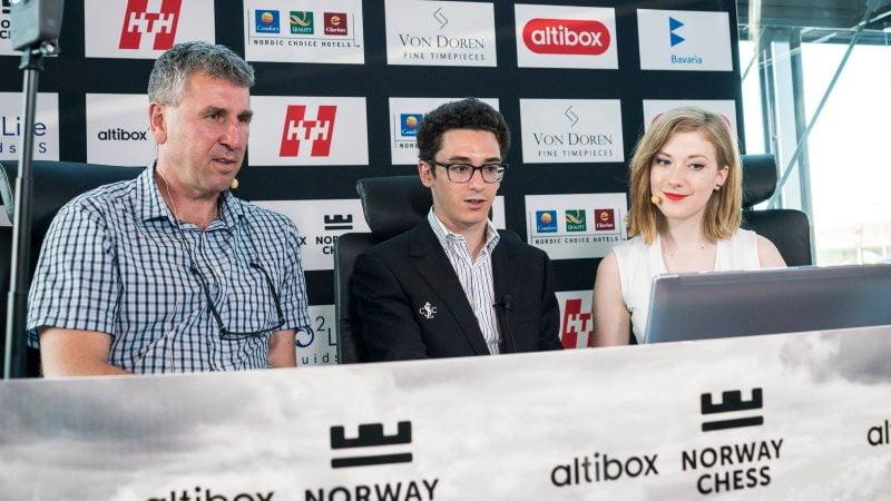 Fabiano Caruana remporte le Norway Chess 2018