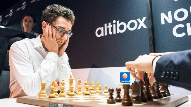 Norway Chess 2018 ronde 5 Fabiano Caruana