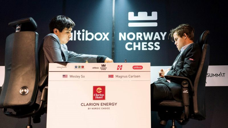 Norway Chess 2018 ronde 6 So-Carlsen