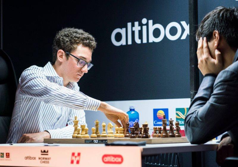 Norway Chess 2018 ronde 9 Fabiano Caruana-Wesley So