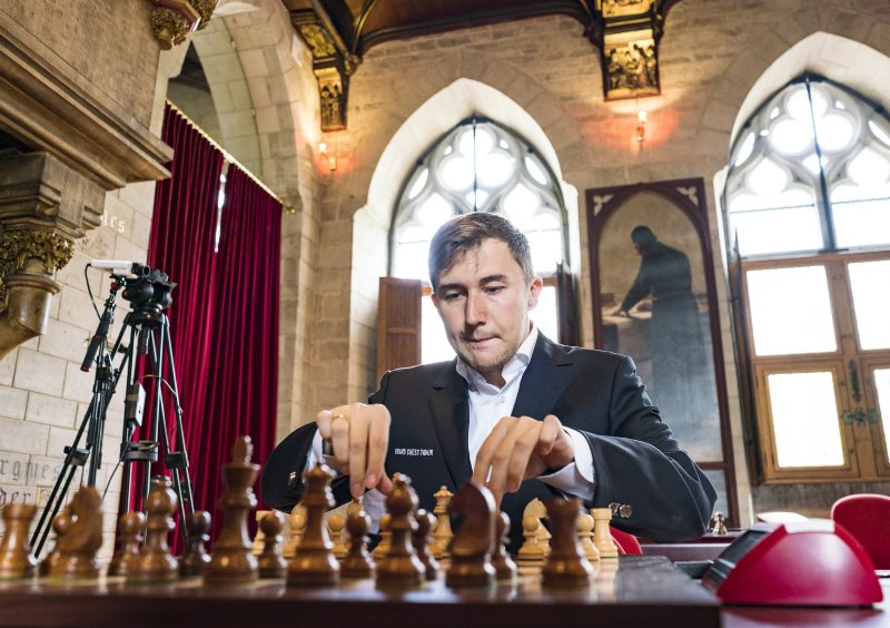 Your Next Move Grand Chess Tour 2018 Sergey Karjakin