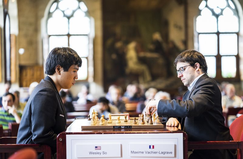 Your Next Move Grand Chess Tour 2018 Wesley So et Maxime Vachier-Lagrave
