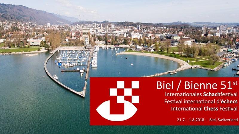 Festival International des échecs de Bienne 2018