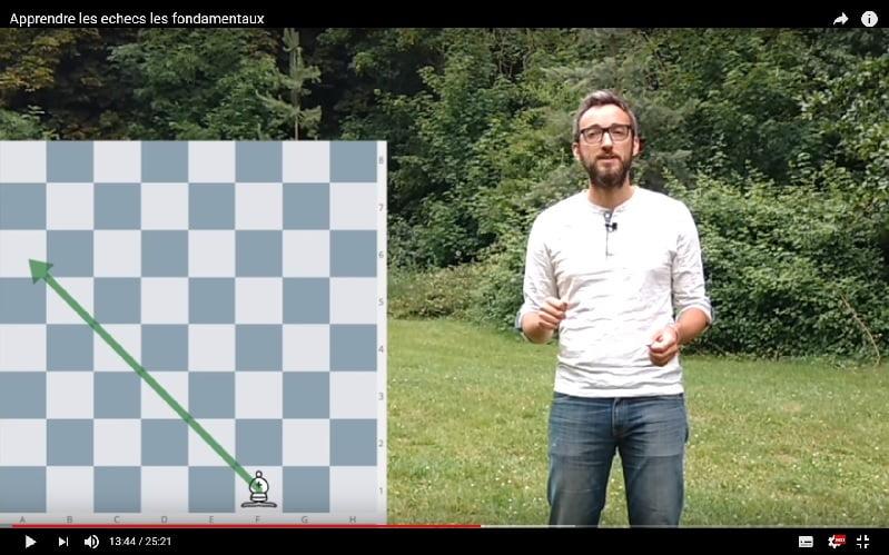 Formation vidéo apprendre à jouer aux échecs