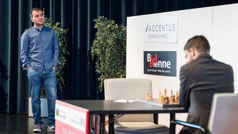Tournoi des Grands-Maîtres au Festival des échecs à Bienne 2018 ronde 3
