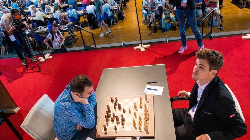 Tournoi des Grands-Maîtres au Festival des échecs de Bienne 2018 ronde 5