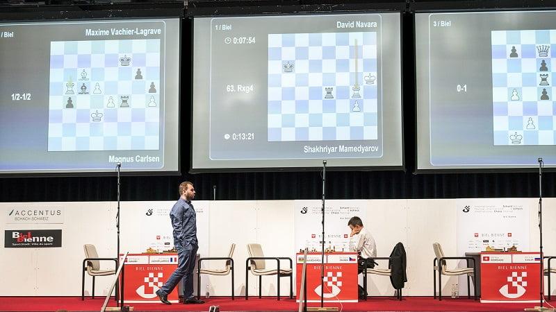 Tournoi des Grands-Maîtres au Festival d'échecs de Bienne 2018 ronde 7