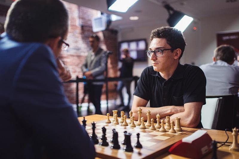 Saint-Louis Rapide et Blitz 2018 jour 3 Fabiano Caruana