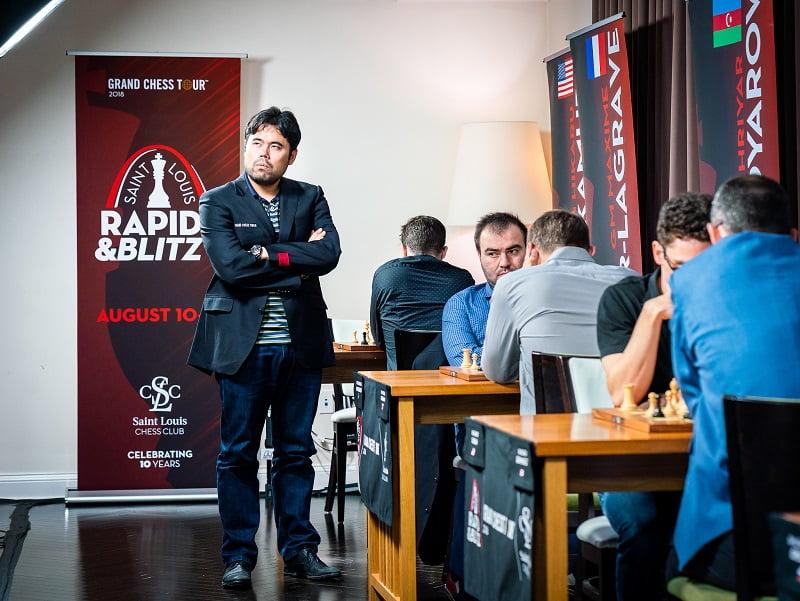 Saint-Louis Rapide et Blitz 2018 jour 3 Nakamura Mamedyrov