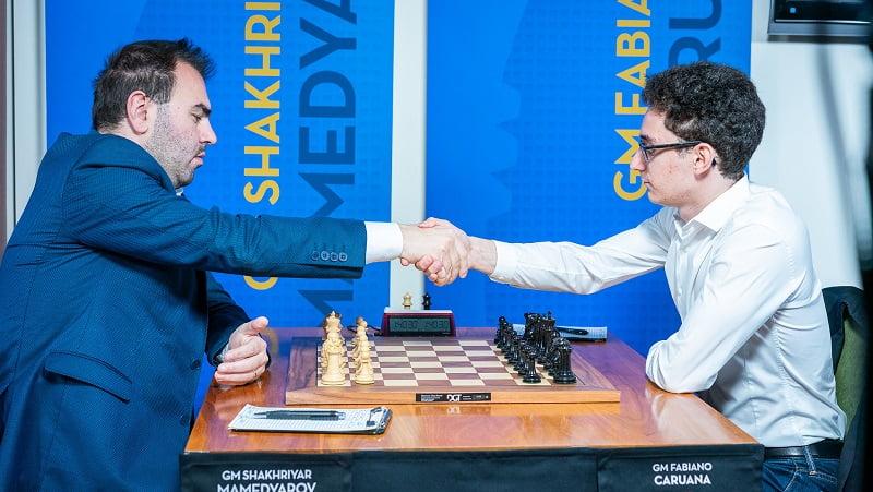 Sinquefield Cup 2018 ronde 3 Mamedyarov-Caruana
