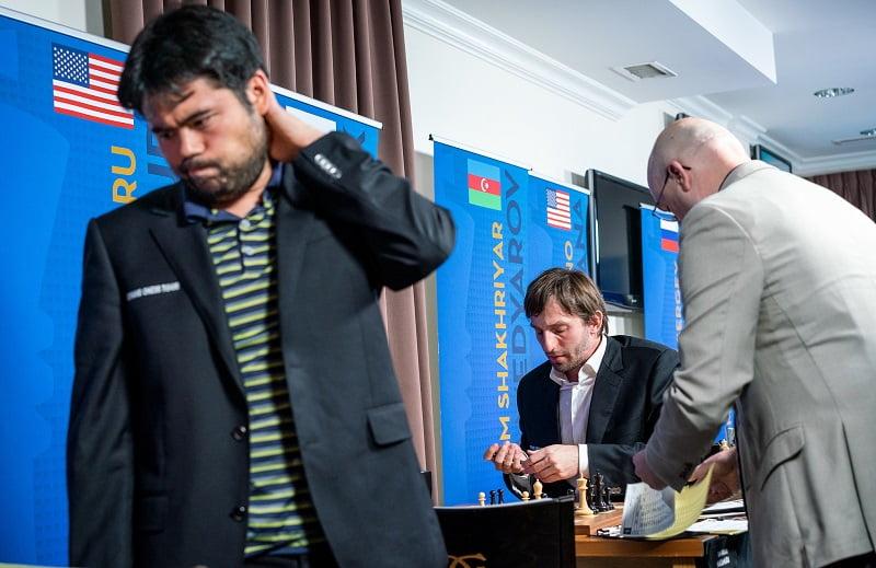 Sinquefield Cup 2018 ronde 3 Nakamura-Grischuk