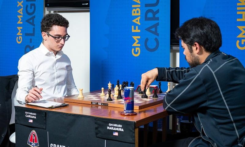 Sinquefield Cup 2018 ronde 4 Caruana-Nakamura