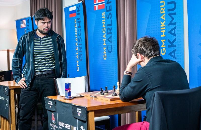 Sinquefield Cup 2018 ronde 6 Nakamura-Aronian